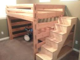 diy bunk beds with stairs loft bed with slide plans bunk beds stairs zoom home decorations insight for bunk bed plans with stairs bunk bed with stairs and