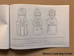 Printable activity worksheets, number, color, puzzles and more! Nativity Coloring Pages Mamas Learning Corner