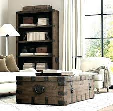 coffee table trunk storage uk small