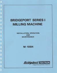 bridgeport factory literature here they are front and back