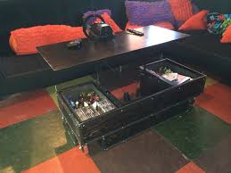 ... Old Vintage Gaming Coffee Table Classic Style Furniture Amazing Desk  Drawer Cool Decoration Suitable For Living ...