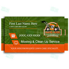 Business Card 1 Kids Lawn Care