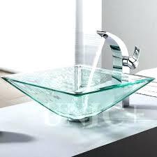 outstanding glass bathroom sinks clear glass bathroom sinks gorgeous glass sinks for bathrooms with glass sink outstanding glass bathroom sinks