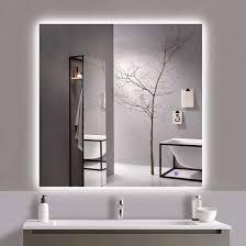 china led backlit mirror bathroom