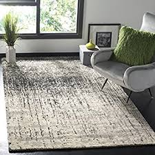 modern grey area rug. safavieh retro collection ret2770-9079 modern abstract black and light grey area rug (5