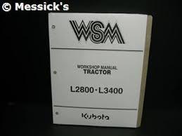 kubota l2800 parts l2800 l3400 shop manual