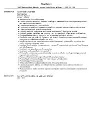 Network Engineer Resume Sample Velvet Jobs Cisco Stand Sevte