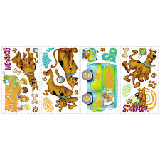 Scooby Doo Bedroom Accessories Room Mates Room Mates Deco Scooby Doo Wall Decal Reviews Wayfair