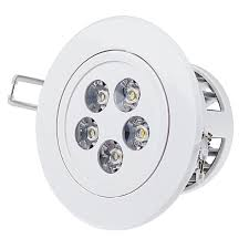 5 watt led recessed light fixture aimable and dimmable