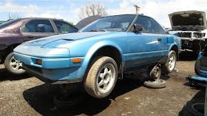 Junkyard Find: 1986 Toyota MR2 - The Truth About Cars