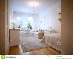 Provencal Bedroom Furniture Idea Of Provence Bedroom With White Furniture Stock Photo Image