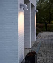exterior funnel design downward wall light