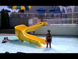 Aquaport Waterpark Aquaport Slide Youtube