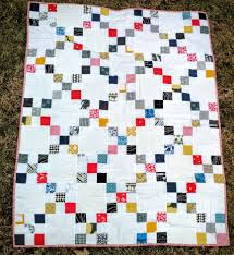 Scrappy Irish Chain Baby Quilt Finished - Quiltytherapy ... & Scrappy Irish Chain Baby Quilt Adamdwight.com