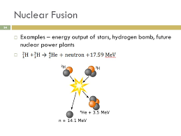 34 nuclear fusion examples energy output of stars hydrogen future nuclear power plants