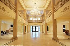 with 24 rooms chandelierarble floors this versailles style new jersey palace