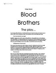blood brothers play evaluation gcse drama marked by teachers com page 1 zoom in