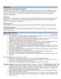 visual basic resumes