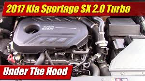 under the hood 2017 kia sportage sx 2 0 turbo testdriven tv Kia Sportage Parts Diagram at Kia Sportage 2 0 Engine