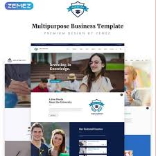 College Templates 5 Top College University Website Templates 5 Best Things