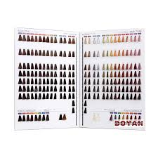 Hair Color Chart Hair Color Shade Card For Salon Use Buy Hair Color Shade Card Hair Color Chart Hair Shade Book Product On Alibaba Com