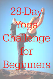 28 day yoga challenge for beginners