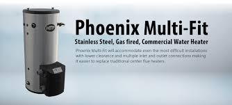 High Efficiency Water Heaters Gas Htp Phoenix Multi Fit Water Heater