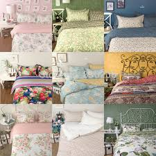 2016 new ikea style bedding sets in full queen king size 4pcs cotton bed sheet