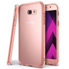 samsung a7 2017. ringke fusion tpu cover case for samsung galaxy a7 2017 (rose gold) c