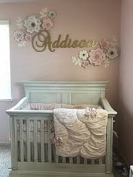 elegant baby furniture. Baby Girl Nursery With Pink And Gold Theme Ebook Elegant Furniture