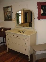 sold vintage vanity four drawer dresser with mirror