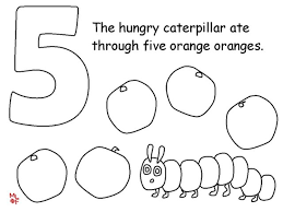 Small Picture Very Hungry Caterpillar Coloring Pages Coloring Book of Coloring