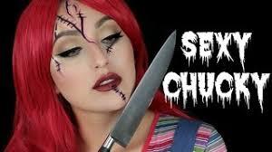 y chucky makeup tutorial