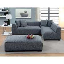 furniture of america misha contemporary style plush sectional sofa com