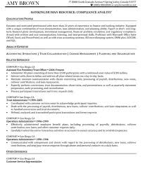 Best Ideas of Compliance Analyst Resume Sample With Format Layout