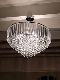 a stunning laura ashley vienna large glass ceiling pendant in perfect condition reduced to