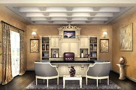 office wall desk. Home Office Desk Against Wall Mounted Stunning Custom Double Sided And Credenza Caxton