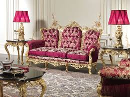 luxury living room set. baroque sofa of the luxury classic living room barocco: as all furniture in this set