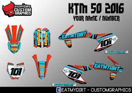 2018 ktm graphics. beautiful ktm ktm 50 20162018 custom graphics kit stickers motocross decals mx   ebay intended 2018 ktm graphics
