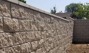 block retaining walls anaheim san
