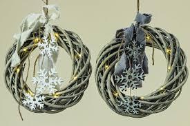 Led Kranz Nika Weide Fensterdeko Versch Farben Weihnachten Led Licht Neu Ovp