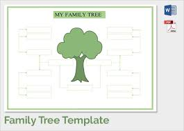 Sample Of Family Tree Chart Family Tree Template With Siblings Dattstar Com