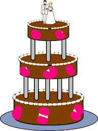 Wedding Cake Tiered Layers Free Vector Graphic On Pixabay