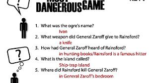 Rainsford Zaroff Venn Diagram Dangerous Game General Zaroff House Www Topsimages Com