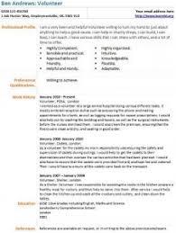 resume sample volunteer work volunteer work cv sample under fontanacountryinn com