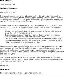 Soccer Coach Cover Letter Sample Carpinteria Rural Friedrich