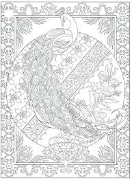 Peacock Feather Coloring Page Peacock Colouring Pages Peacock