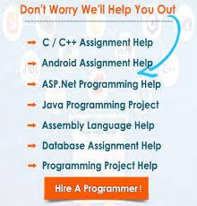 asp net programming assignment help by expert programmer programming expert help available 24 7