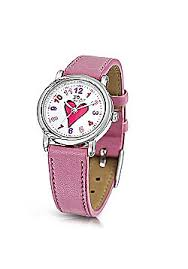 buy children s watches from our kids jewellery watches range jo for girls heart dial pink strap watch for girls