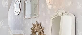 Laura Ashley Wallpaper Bedroom Swans Silver Wallpaper At Laura Ashley